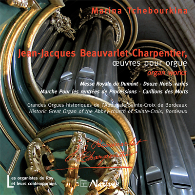 Jean-Jacques Beauvarlet-Charpentier, œuvres pour orgue